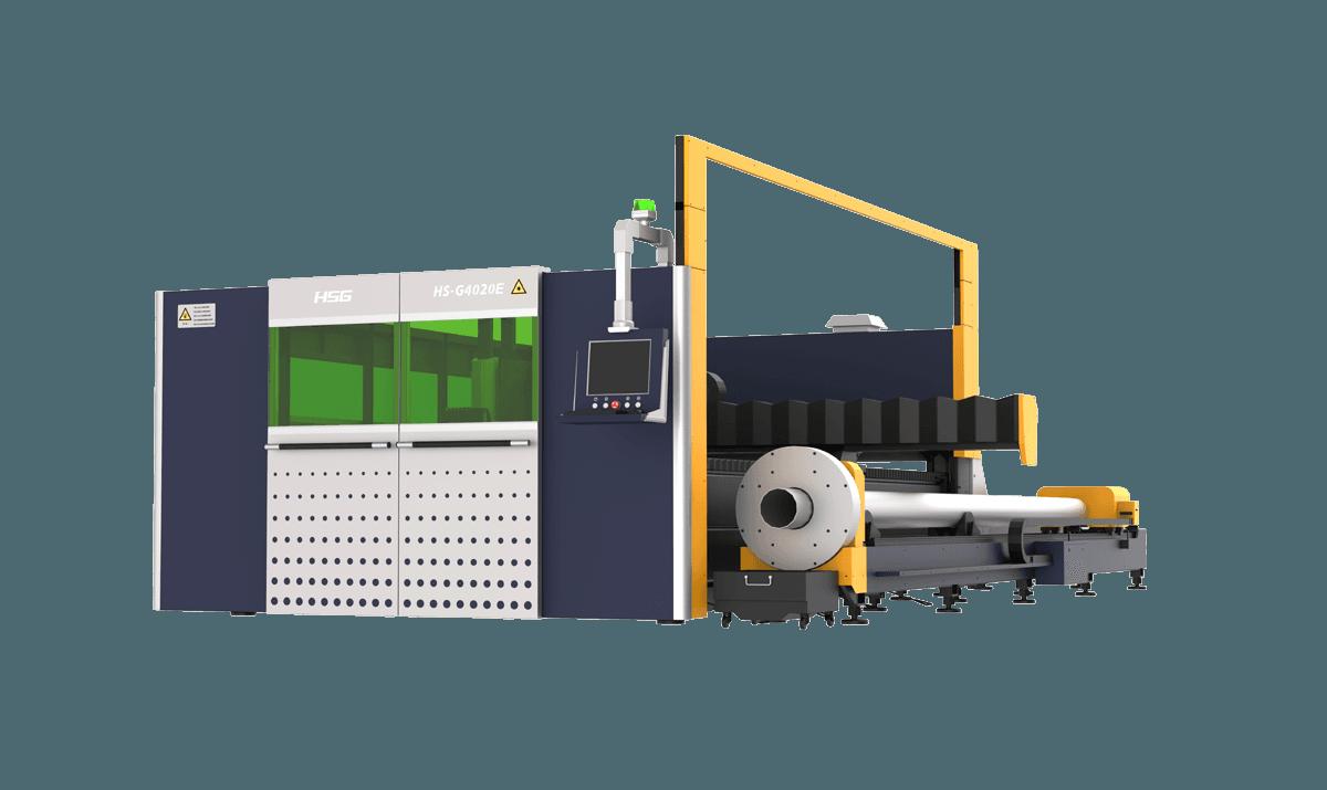 GE Series Double Platforms Sheet and Tube Laser Cutting Machine