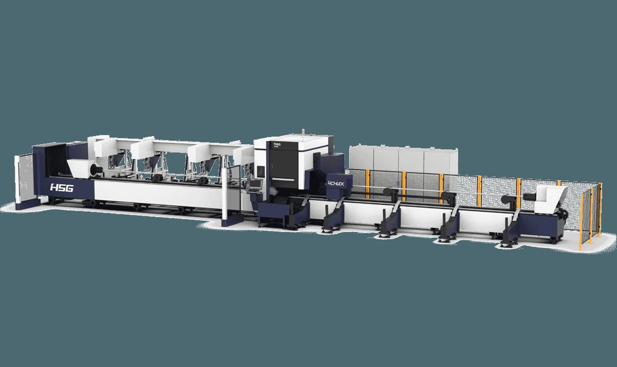 TH65Plus Series Zero Tailing Tube Laser Cutting Machine