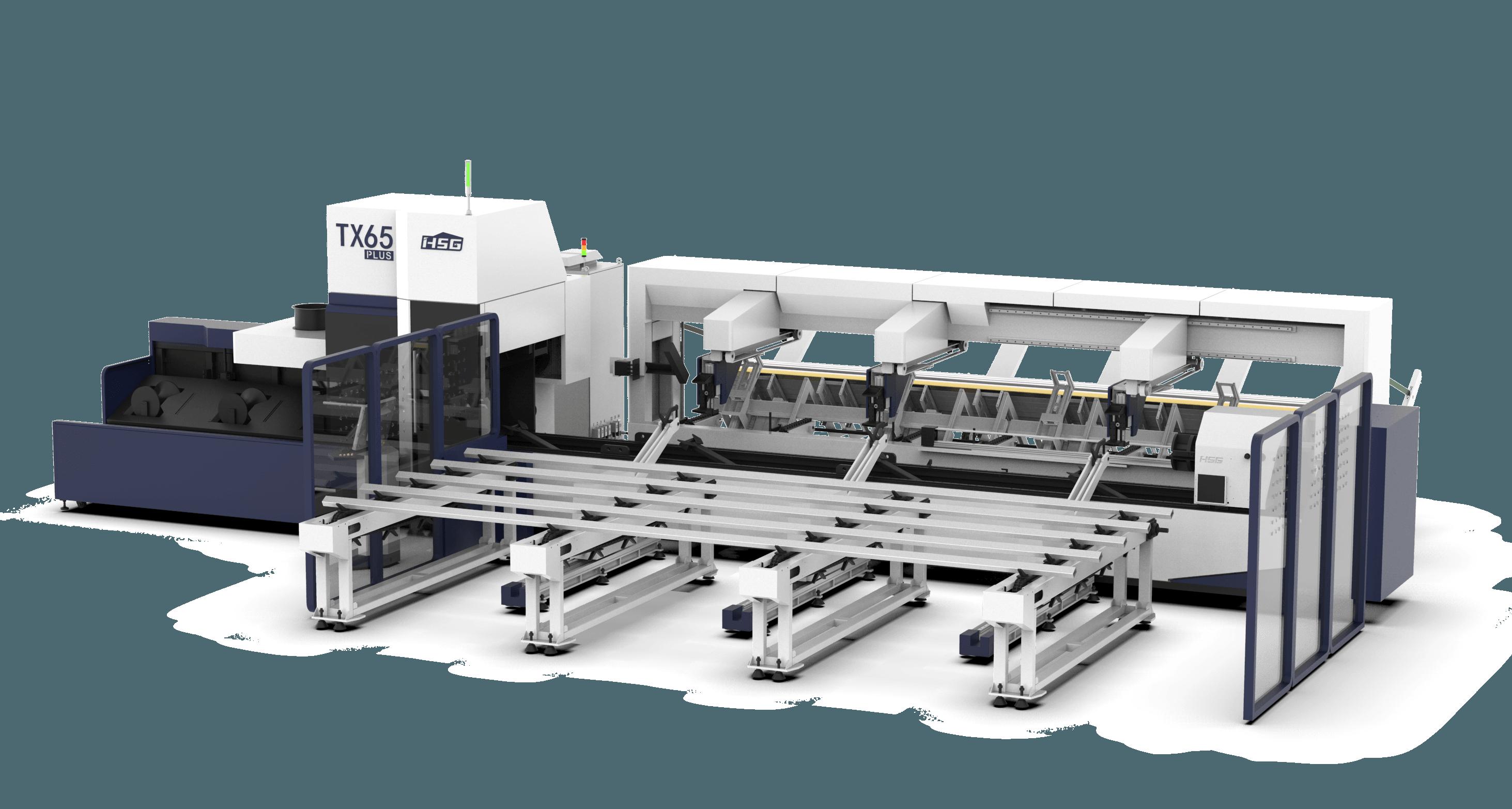TX65Plus Series Heavy Duty Tube Laser Cutting Machine