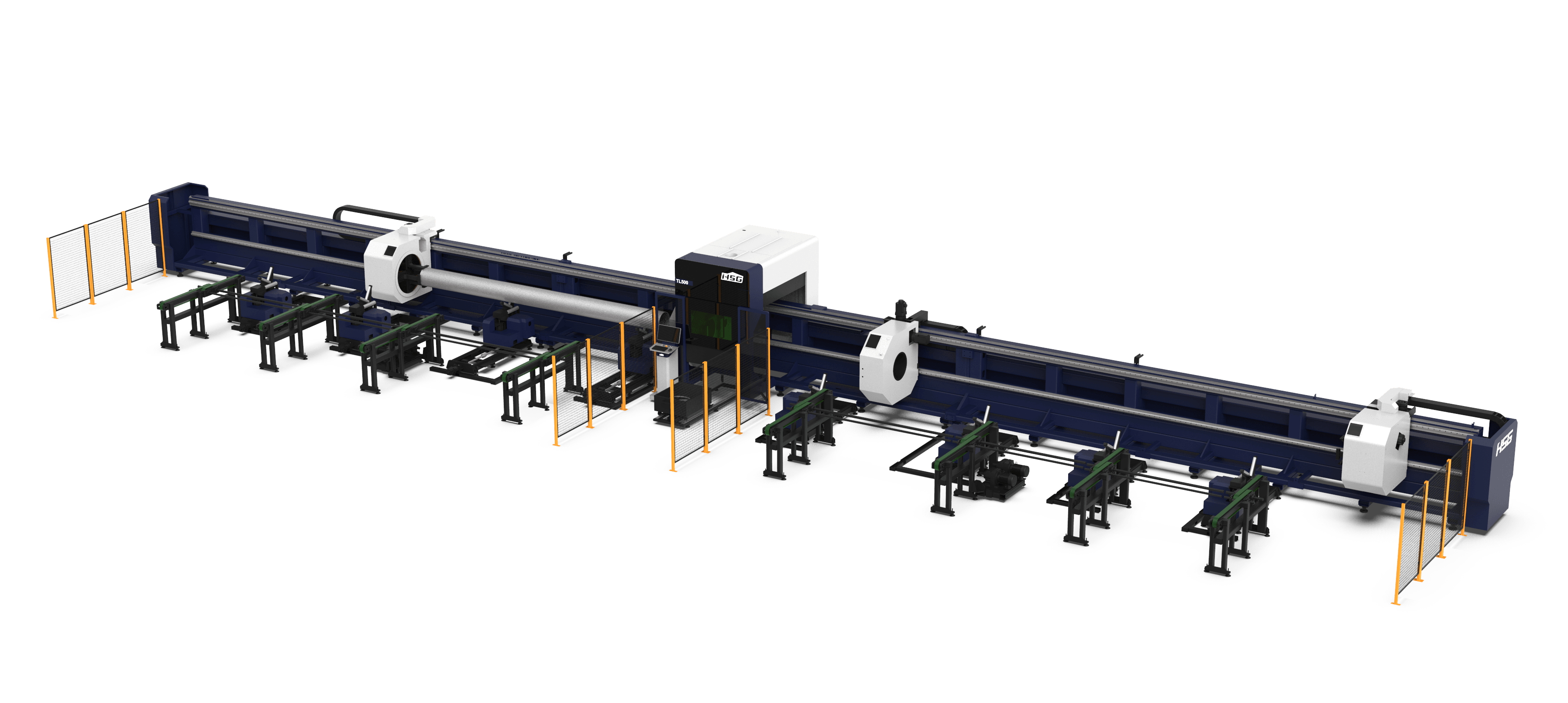 TL500 Series Ultra-Heavy Tube Laser Cutting Machine