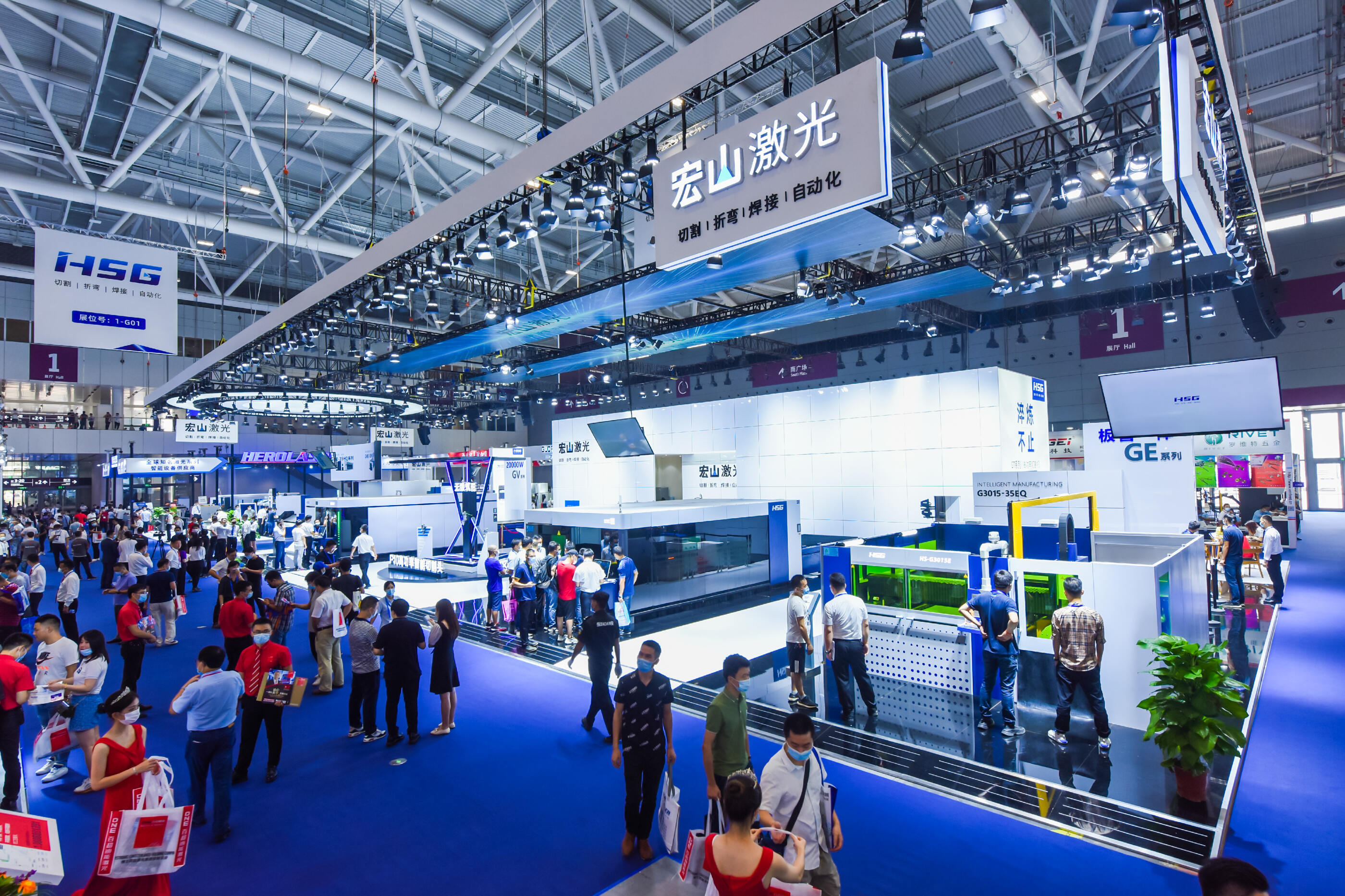 2020 HSG Laser Global Intelligent Sheet Metal Processing Factory—Shenzhen SIMM Exhibition Officially Opened