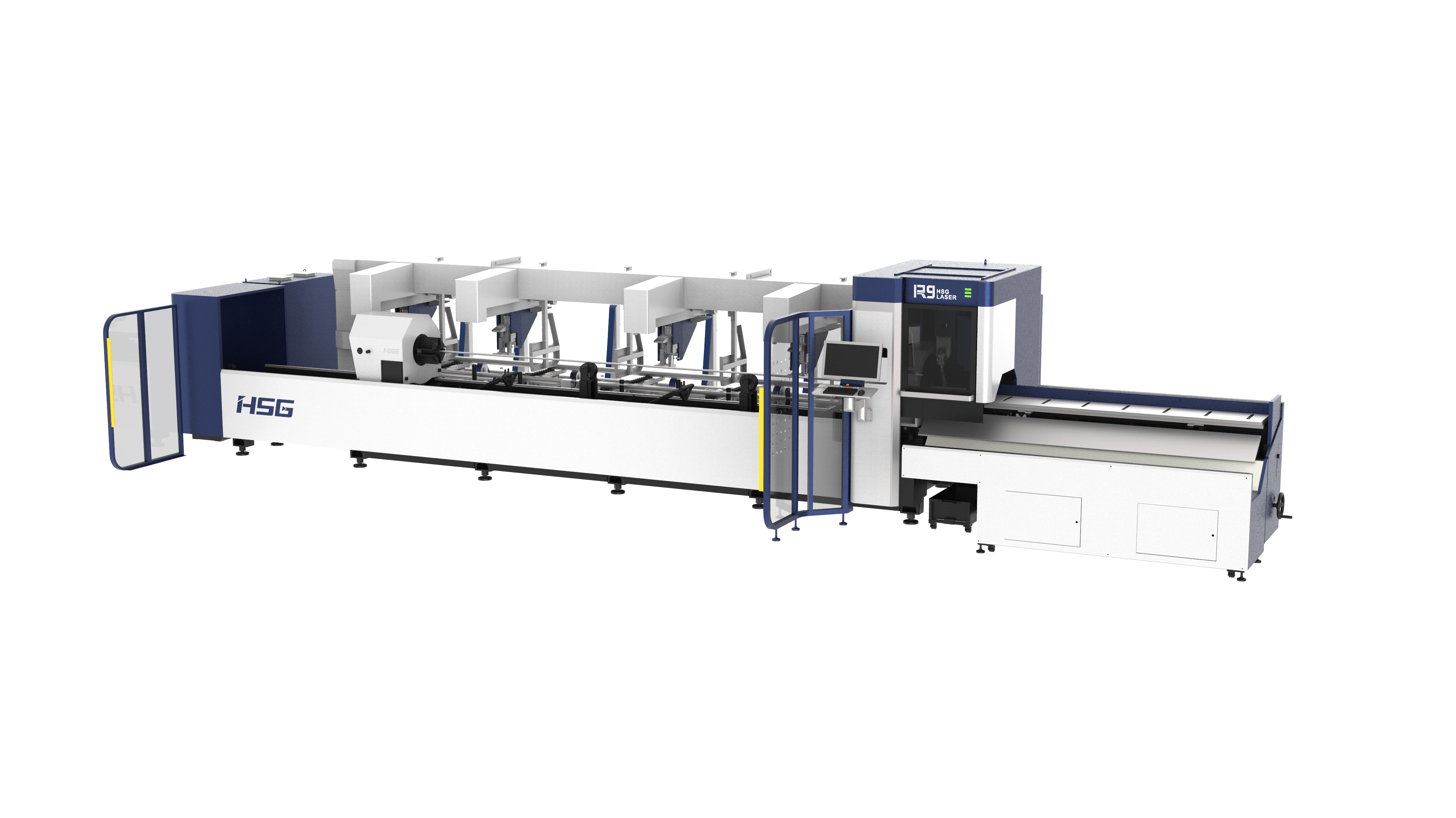 R9 Professional Bevel Laser Tube Cutting Machine